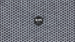 Abstract geometric triangular pattern BG in gray color Stock Image