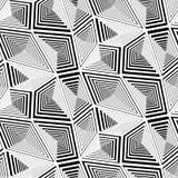 Abstract Geometric Triangular Vector Seamless Pattern Stock Photo