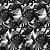 Abstract Geometric Triangular Vector Seamless Pattern Royalty Free Stock Photography