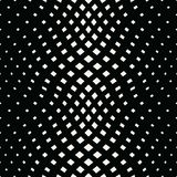 Abstract geometric trippy black and white background pattern. Graphic stock illustration