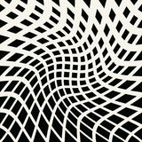 Abstract geometric trippy black and white background pattern graphic stock illustration