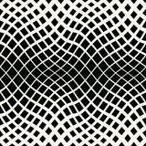 Abstract geometric trippy black and white background pattern. Graphic Stock Photo