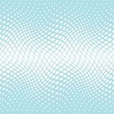 Abstract geometric trippy blue background pattern. Graphic Stock Photography