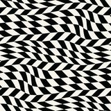 Abstract geometric trippy graphic 3d illusion pattern. Background Stock Image