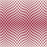abstract geometric trippy red background pattern Stock Illustration