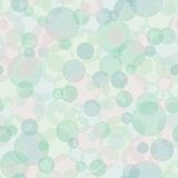 Abstract geometric vector background with circles Stock Image