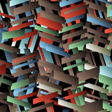 Abstract geometric vector background. Vector EPS10 Royalty Free Stock Photography