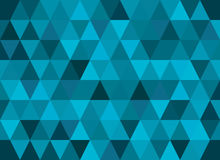 Abstract geometric vector background, triangle pattern.  Stock Image