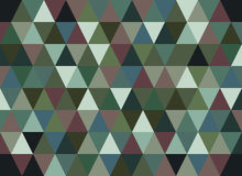 Abstract geometric vector background, triangle pattern.  Royalty Free Stock Photos