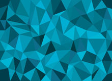 Abstract geometric vector background, triangle pattern.  Stock Images