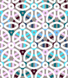 Abstract geometric vector pattern Stock Photography