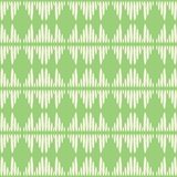 Abstract vector seamless repeat pattern background. Modern stylish hand drawn green tribal texture of repeating striped royalty free illustration