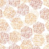 Abstract geometric vector seamless texture Royalty Free Stock Image