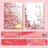 Abstract Geometric Vector template. Stock Image
