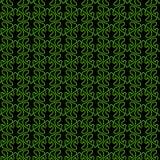 Victorian Garden Geometric Seamless Pattern. Abstract geometric victorian grass garden flames. Seamless texture background pattern Royalty Free Stock Image