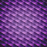 Abstract  geometric violet cubic background Stock Photos