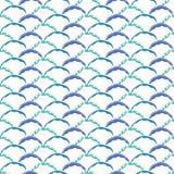 Abstract Geometric Wave Shapes Sea Blue and Aqua vector illustration