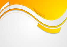 Abstract geometric wavy bright background Royalty Free Stock Photography