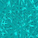 Abstract geometrical aqua background. Vector Illustration. Textured background Royalty Free Stock Images