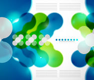 ABstract geometrical background Royalty Free Stock Image