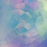 Abstract geometrical background with blue Royalty Free Stock Photo