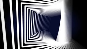 Abstract geometrical background with moving lines and dots. stock video footage