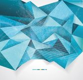 Abstract geometrical background Stock Photography