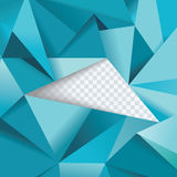 Abstract geometrical background, polygonal design Stock Images