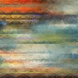 Abstract Geometrical Background. Abstract Striped Geometrical Multicolored Background, Vector Illustration EPS8 Stock Photography