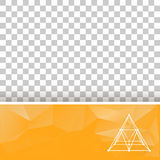 Abstract geometrical background. The template. Design booklet, brochure, banner, document. Cube of lines and dots. Cube of the lines connected to points Royalty Free Stock Photos