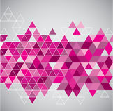 Abstract geometrical background with triangles Stock Photos