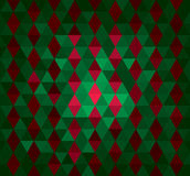 Abstract geometrical background with triangles Stock Image