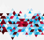 Abstract geometrical background with triangles Stock Photography