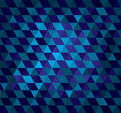 Abstract geometrical background with triangles Stock Photo