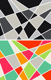 Abstract geometrical backgrounds Stock Image