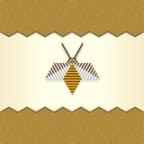 Abstract Geometrical Bee Royalty Free Stock Photo