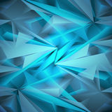 Abstract geometrical blue background. Vector Illustration Royalty Free Stock Images
