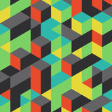Abstract geometrical 3d background Stock Photo