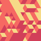 Abstract geometrical 3d background Stock Photography