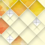 Abstract Geometrical Design. Abstract 3D Geometrical Design.  Vector Illustration. Eps 10 Royalty Free Stock Image