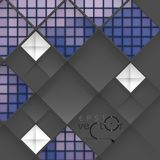 Abstract Geometrical Design. Abstract 3D Geometrical Design.  Vector Illustration. Eps 10 Royalty Free Stock Images