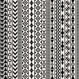 Geometrical ethnic motifs background. Abstract Geometrical ethnic motifs background Royalty Free Stock Photography