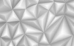 Abstract geometrical gray background. Vector Illustration Royalty Free Stock Photos