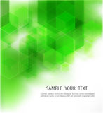 Abstract Geometrical Green Background, Vector Illustration Royalty Free Stock Photography