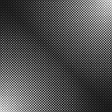 Abstract geometrical halftone dot pattern background - black and white vector design. Abstract geometrical halftone dot pattern background - black and white Royalty Free Stock Photo