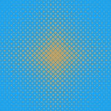 Abstract geometrical halftone rounded square pattern background - graphic from diagonal squares in varying sizes Royalty Free Stock Image