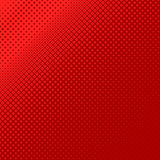 Abstract geometrical halftone square pattern background - vector design from squares in varying sizes. Red abstract geometrical halftone square pattern royalty free illustration