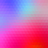 Abstract geometrical multicolored background consisting of bright triangular elements Stock Photo