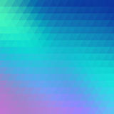 Abstract geometrical multicolored background consisting of triangular elements Royalty Free Stock Photos