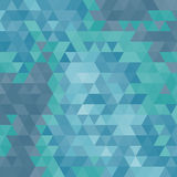 Abstract geometrical multicolored background consisting of triangular elements Stock Photo